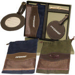 Picture of Woodbury Golf Pouch and Round Golf Tag Set