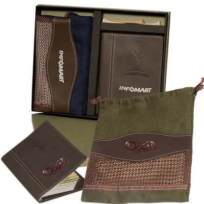 Woodbury Golf Pouch and Scorecard Set