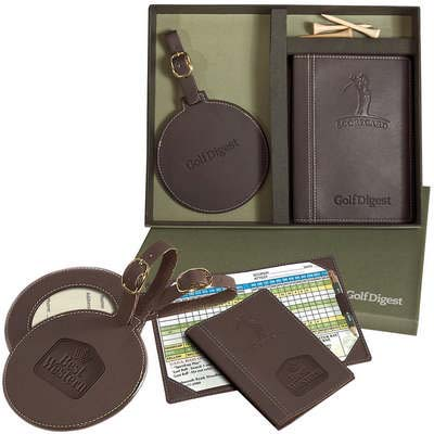 Woodbury Golf Scorecard and Round Golf Tag Set