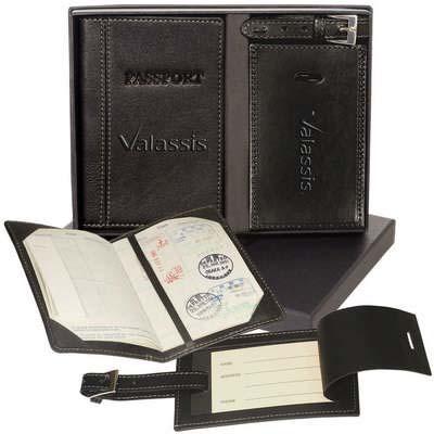 Peconic Passport Jacket & Luggage Tag Set