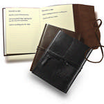 Picture of Americana Leather Wrapped Journal