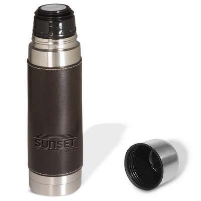 Empire Leather Wrapped Thermos
