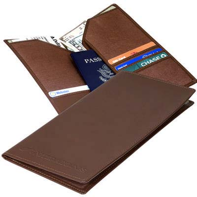 Liberty Leather Travel Wallet