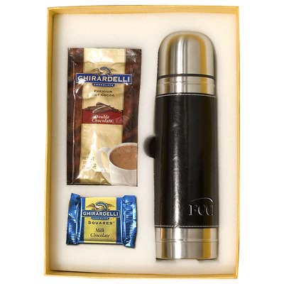 Empire Thermos & Ghirardelli Deluxe Gift Set