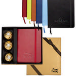 Picture of Tuscany Junior Journal & Ferrero Rocher Chocolates Gift Set