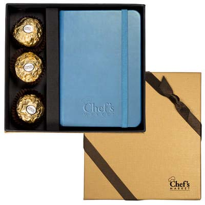 Tuscany Junior Journal & Ferrero Rocher Chocolates Gift Set