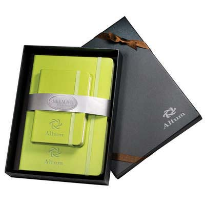 Tuscany Faux Leather Journals Gift Set
