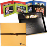 Picture of Ferrero Rocher Chocolates & Hampton Leather Frame Gift Set