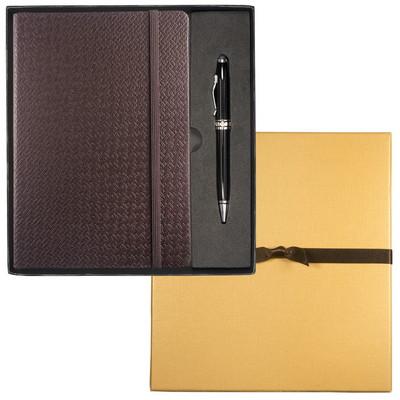 Tuscany Textured Journal & Executive Stylus Pen Set