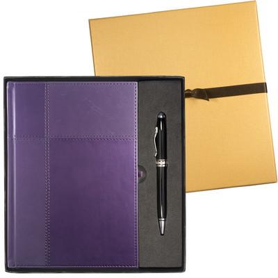 Tuscany Duo-Textured Journal & Executive Stylus Pen