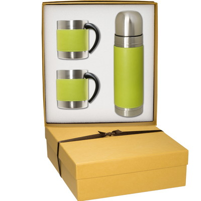 Tuscany Coffee Cup & Thermos Set
