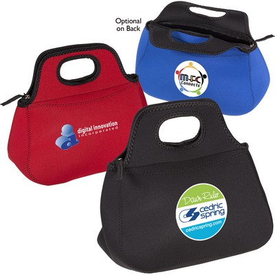 Zippered Neoprene Lunch Tote
