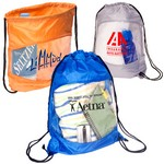 Picture of Clear View Drawstring Bag