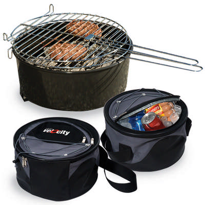 Weekend Explorer Grill & Cooler