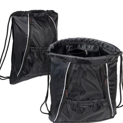 Multi-Pocket String-A-Sling Backpack