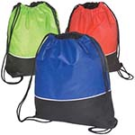 Picture of Textured String Backpack