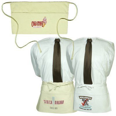Natural White Waiter's Apron