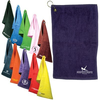 Fingertip Towel with Grommet