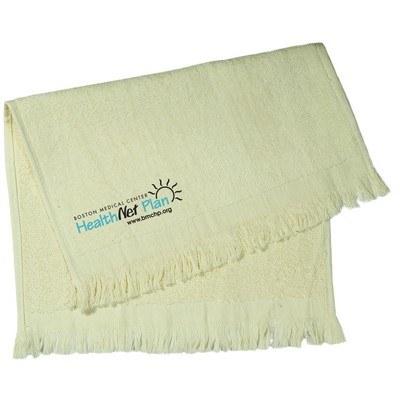 Light Color Velour Sport Towel
