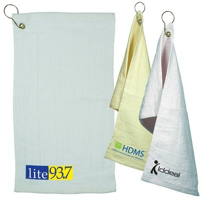 Light Color Fingertip Towel with Grommet