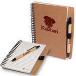 Picture of Stone Paper Spiral Notebook With Pen Combo