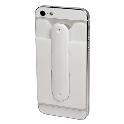 Quik-Snap Mobile Device Pocket with Stand
