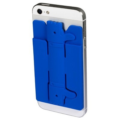 Quik-Snap Thumbs-Up Mobile Device Pocket with Stand