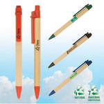 Picture of Eco-Green Paper Barrel Pen