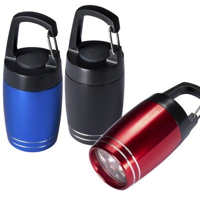 Baby Barrel 6 LED Torch with Carabiner