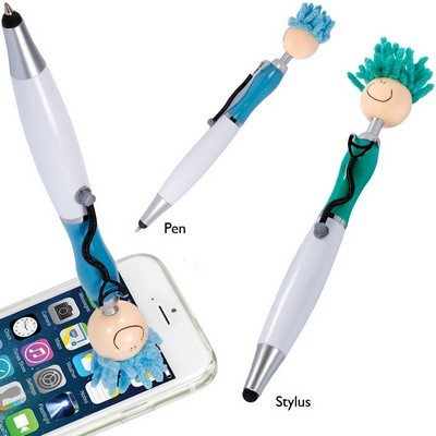 MopTopper Stethoscope and Stylus Pen