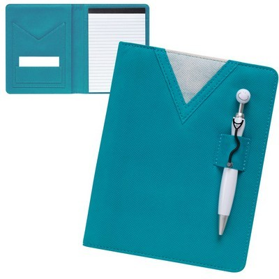 Scrubs Notebook with Swanky Stethoscope Pen
