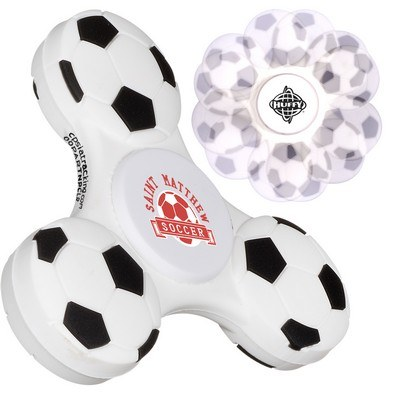 Promotional Fidget Spinner with GameTime Spinner – Soccer