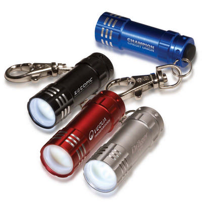 Micro 3 Led Torch with Key Holder