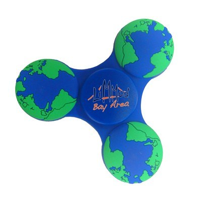 Promotional Fidget Spinner – Earth