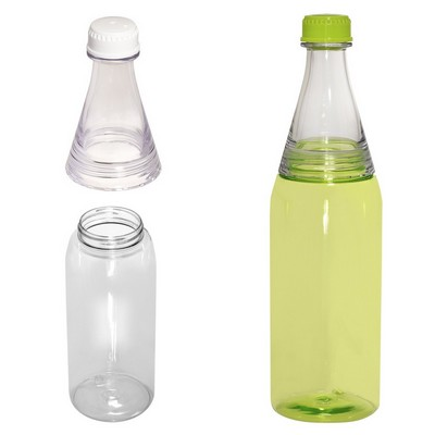 Easy-Fill Two-Tone Soda-Style Bottle