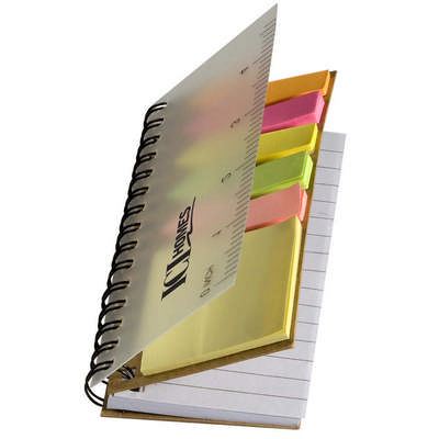 Pocket Jotter with Sticky Flags