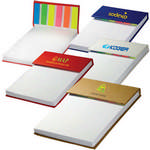 Picture of Hard Cover Jotter Pad with Sticky Flags