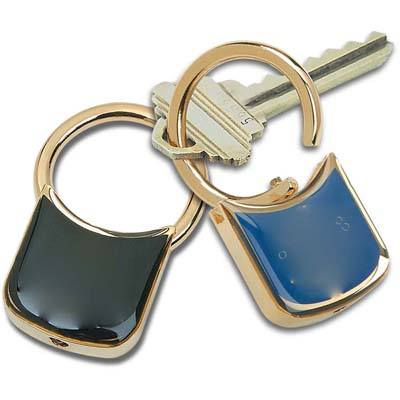 Lusterdome Key Tag – Gold