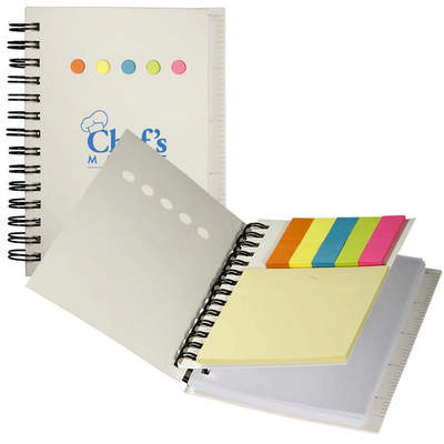 Eco Mini-Sticky Book With Ruler