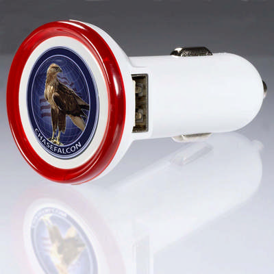 Round Usb Car Charger – Deluxe