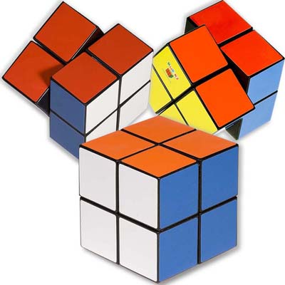 Rubik's 4-Panel Full Stock Cube