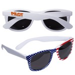 Picture of Patriotic Sunglasses with Stars and Stripes