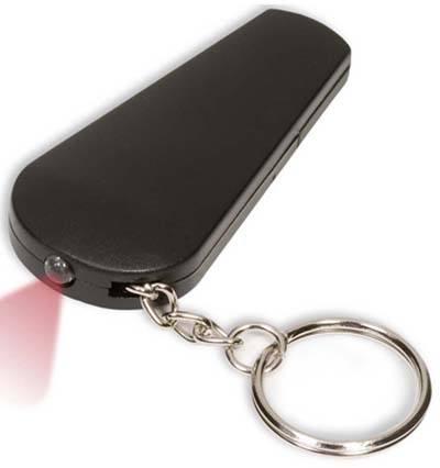 Light 'n Whistle Key Tag
