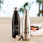Picture of 16 oz Double Wall Stainless Steel Vacuum Bottle