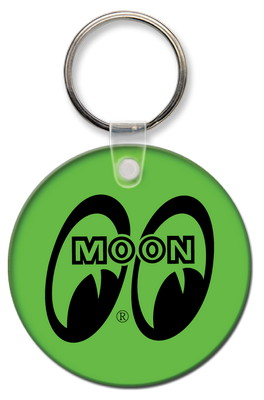 Round Spot Color Key Tag