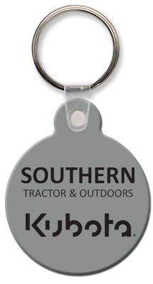Round Key Tag with Tab