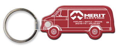 Van Shaped Key Tag