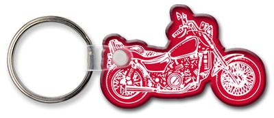 Motorcycle Shaped Key Tag