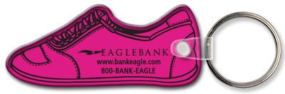 Running Shoe Shaped Key Tag