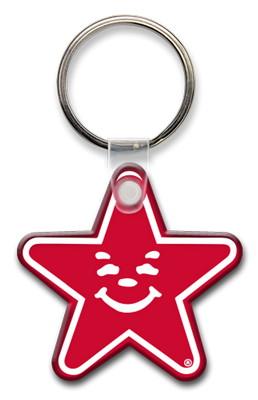 Five Point Star Key Tag